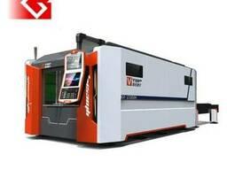 1000вт IPG Оптоволоконный лазерный станок для металла
