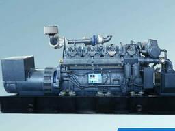 700кВт генераторная установка на биомессе С газофичиком