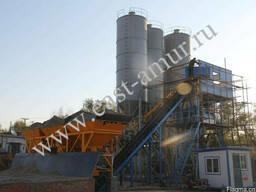 Бетонный завод 60 куб/час HZS60