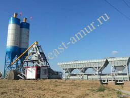 Бетонный завод 75 куб/час HZS75