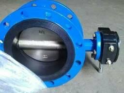 D341X-Затвор дисковый поворотный фланцевый с эластомерным уп - фото 1