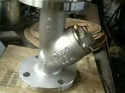 Фильтр сетчатый фланцевый типа «Y» Ру16 Ду50 CF8, хороее кач