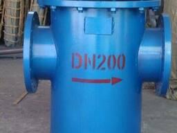 Фильтр сетчатый стальной с фланцевым присоединением Ду200