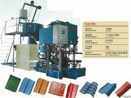 Гидропрессовое оборудование по производству черепицы QWS (80 - photo 2