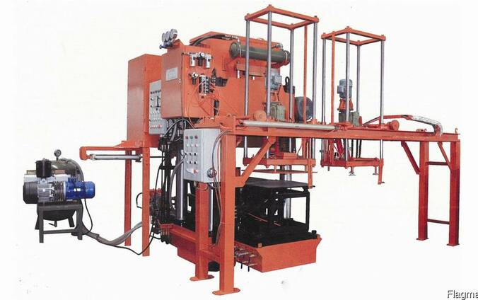 Гидропрессовое оборудование по производству антистатической
