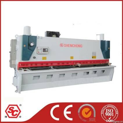 Гильотинные ножницы QC11Y-12X4000 из Китая