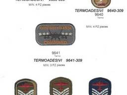 Iron board military fabric