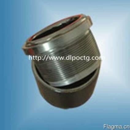 Композитный и пластмассовый черный защиты резьбы протектор