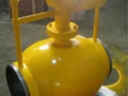 Кран шаровой цельносварной подземной установки, Китай
