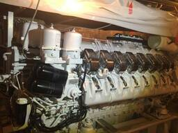 MTU 16V4000M90 3,650нр rpm new propulsion engines