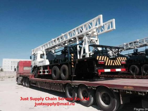 Низкорамные трейлеры для тяжеловесных и негабаритных грузов