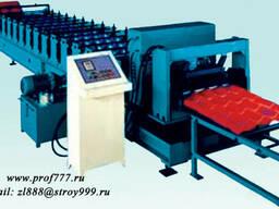 Оборудование для производства металлочерепицы Монтеррей из к
