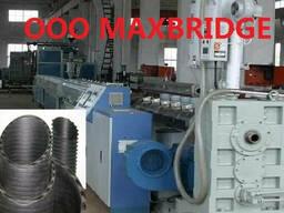 Продам линию производства ПЭ спиральновитых труб канализации