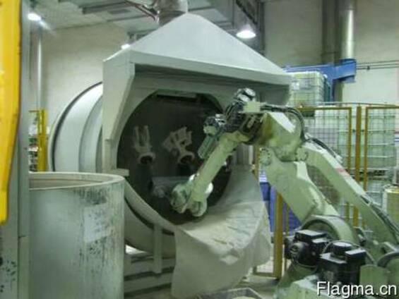 Робот и дождевой пескосып