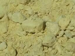Sulphur. Сера молотая и комовая минеральные удобрения