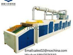 Щипальная машина для разволокнения текстильных отходов