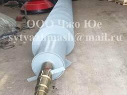 Шнек, К209-216СБ, 2660кг, сталь 35л, из цельной трубы