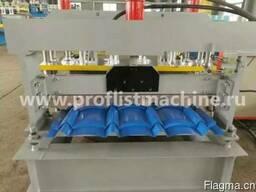 Станок для производства металлочерепицы 830 в Китае