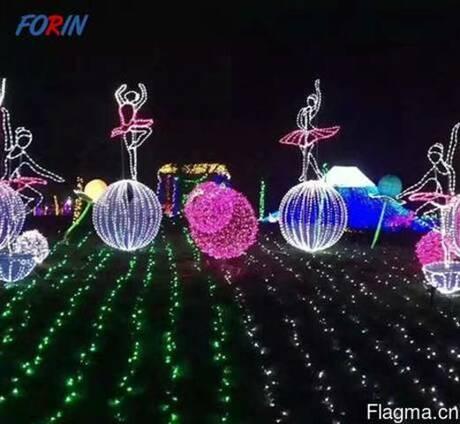 Светодиодная фигура шар оптом из Китая