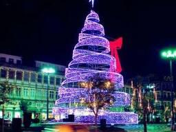 Световая уличная елка 2018 из китая оптом - фото 3