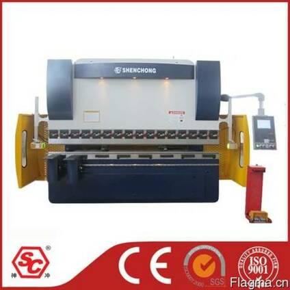 WE67K-125Т3200 гидравлический листогибочный пресс из Китая