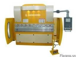 WE67K-63T2500 синхронная гидравлическая гибочная машина