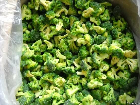Замороженные овощи, брокколи, цветная капуста