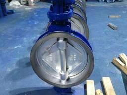 Затвор дисковый поворотный межфланцевый Ру16 Ду400 под приво
