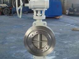 Затворы дисковые поворотные межфланцевые стальные Ру16 Ду200
