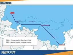 Ж/Д перевозка Китай-Aktogai - фото 1