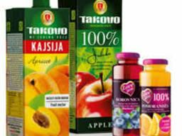 100% и 50% фруктовые соки, Сербия