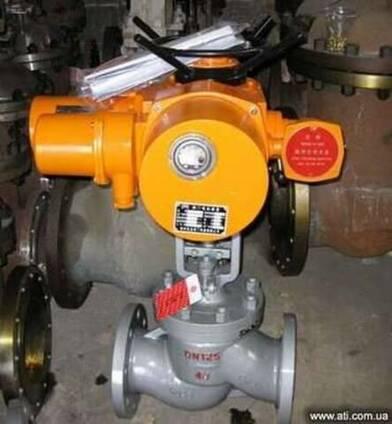 15с922нж вентиль стальной с электроприводом Китай