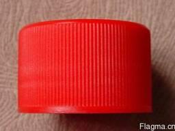 28мм крышка для горячего разлива пластическая и для холодног