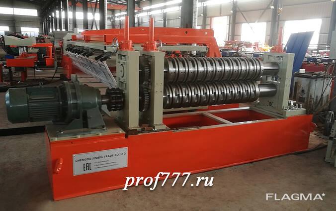 Автоматическая линия для поперечной и продольной резки метал