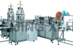 Автоматическая линия для производства трехслойных масок