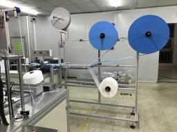 Автоматическая линия по производству масок трёхслойных