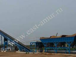 Бетонный завод 120 куб/час HZS120