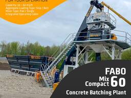 Бетонный Завод Fabomıx Compact-60 | Новый Проект
