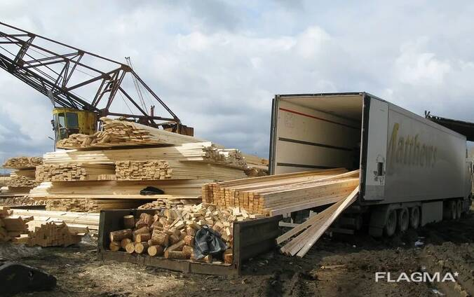 Barked logs/wood transportation by train from Europe to China