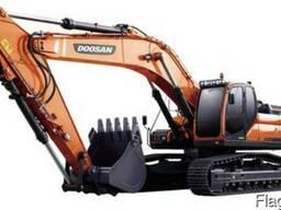 Doosan DX420LCA новый гусеничный экскаватор масса 41,5 тонн