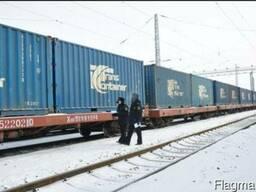 Доставка Гуанчжоу-Москва быстром поездом 15-18 дней в 2017