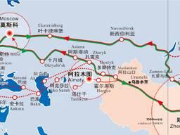 Перевозить грузы из китая в россию и в казахстан
