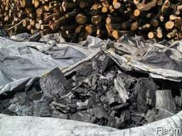 Древесный уголь для BBQ из твёрдых пород дерева - фото 2