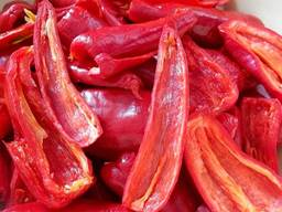Dried red bell peper