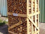 Дрова дубовые колотые сухие - фото 2