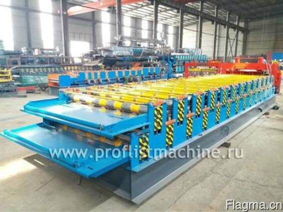 Двухъярусная линия для производства профнастила в Китае