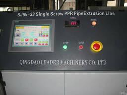 Эффективная линия LSG65/33 для труб ПЭ ПП ПП-Р ПЭРТ Ф20-110