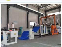 Экструзионная линия по производству полиэтиленового щетинистого покрытия
