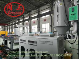 Экструзионная линия по производству сайдинга из ПЭ ДПК