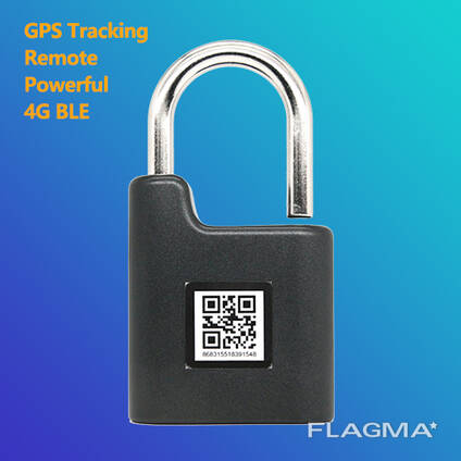 Express Truck Tracking Electronic Smart GPS Padlock Bluetooth APP Remote Control